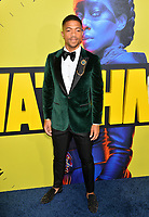 "LOS ANGELES, USA. October 15, 2019: Steven Norfleet at the premiere of HBO's ""Watchmen"" at the Cinerama Dome, Hollywood.<br /> Picture: Paul Smith/Featureflash"