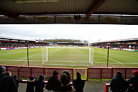 North Terrance during Stevenage vs Reading, Emirates FA Cup Football at the Lamex Stadium on 6th January 2018