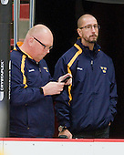 Per-Åke Bäckman (Sweden - Equipment Manager), ? - Sweden's Under-20 team defeated the Harvard University Crimson 2-1 on Monday, November 1, 2010, at Bright Hockey Center in Cambridge, Massachusetts.