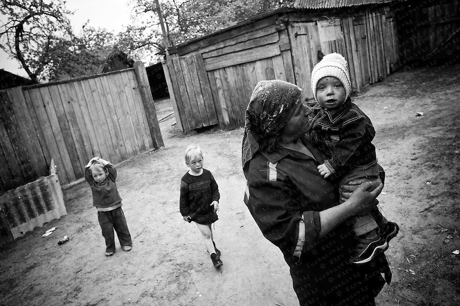 Documenting the echos of Chernobyl Tragedy, Valentina Romanjuk. People returning to the exclusion zone. This area serves as a long term reminder of the mass destruction caused by the nuclear explosion in Chernobyl, Ukraine on April 25-26, 1986.