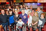 Tralee gent, Dominic Cunningham celebrated his 60th birthday in Gallys bar, Tralee last Saturday night along with his family and many friends.