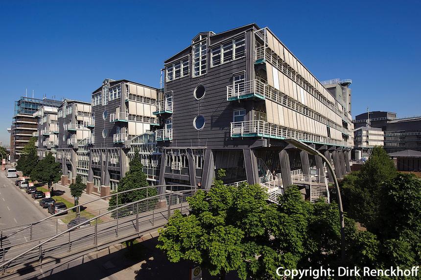 Gruner + Jahr Verlagsgebäude am Baumwall,  Hamburg, Deutschland