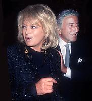 Angie Dickenson, Tony Bennett 1995, Photo By John Barrett/PHOTOlink