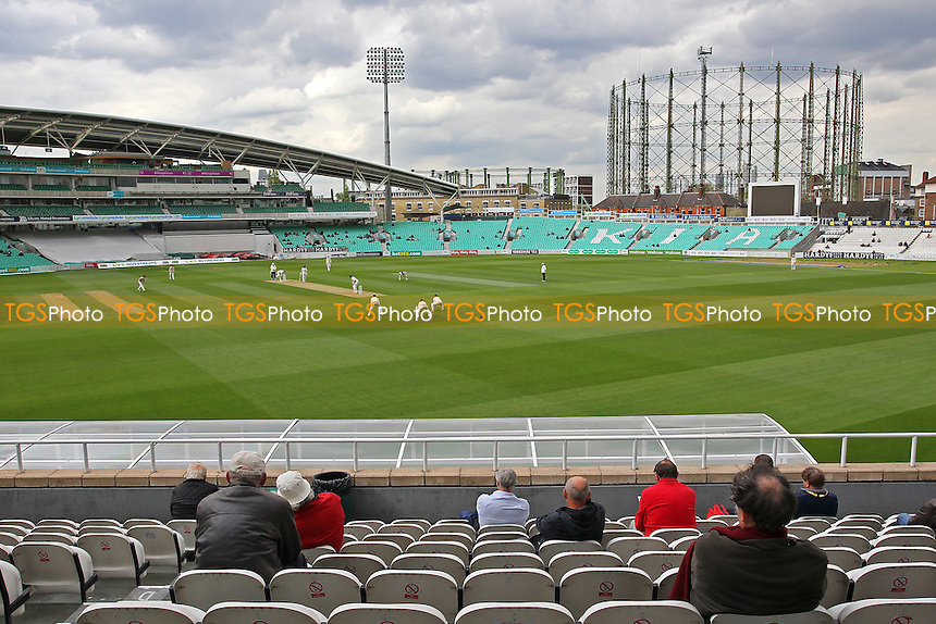 General view of play on Day Two - Surrey CCC vs Essex CCC - LV County Championship Division Two Cricket at the Kia Oval, Kennington, London - 27/04/15 - MANDATORY CREDIT: Gavin Ellis/TGSPHOTO - Self billing applies where appropriate - contact@tgsphoto.co.uk - NO UNPAID USE