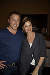Megan Ward (GH) poses with actor Lochlyn Munro (Charmed) at Chiller Theatre Spring Extravaganza was held on April 27, 2014 at the Parsippany Sheraton Hotel in Parsippany, New Jersey.  (Photo by Sue Coflin/Max Photos)