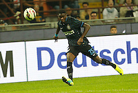 Ibrahima Mbaye during the Italian serie A   soccer match between SSC Napoli and Inter    at  the San Siro    stadium in Milan  Italy , Octobrr 19 , 2014