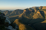 Rock formations, Three Rondavels, Drakensberg Escarpment, Blyde River Canyon, Blyde River Canyon Nature Reserve, South Africa