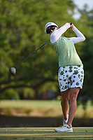 Pernilla Lindberg (SWE) watches her tee shot on 2 during round 1 of the 2019 US Women's Open, Charleston Country Club, Charleston, South Carolina,  USA. 5/30/2019.<br /> Picture: Golffile | Ken Murray<br /> <br /> All photo usage must carry mandatory copyright credit (© Golffile | Ken Murray)