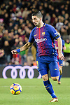 Luis Suarez of FC Barcelona in action during the La Liga 2017-18 match between FC Barcelona and Deportivo La Coruna at Camp Nou Stadium on 17 December 2017 in Barcelona, Spain. Photo by Vicens Gimenez / Power Sport Images