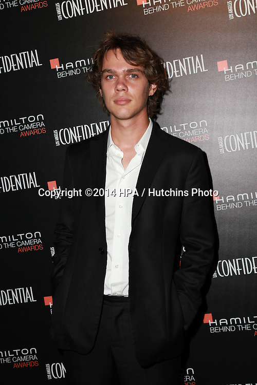 LOS ANGELES - NOV 9:  Ellar Coltrane at the Hamilton Behind The Camera Awards at the Wilshire Ebell Theater on November 9, 2014 in Los Angeles, CA
