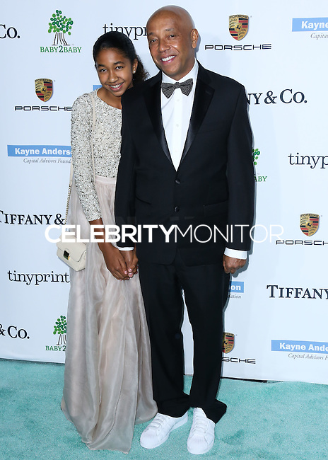 CULVER CITY, LOS ANGELES, CA, USA - NOVEMBER 08: Aoki Lee Simmons, Russell Simmons arrive at the 3rd Annual Baby2Baby Gala held at The Book Bindery on November 8, 2014 in Culver City, Los Angeles, California, United States. (Photo by Xavier Collin/Celebrity Monitor)