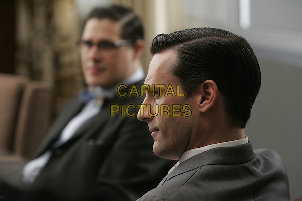 JON HAMM, RICH SOMMER<br /> in Mad Men (Season 1)<br /> *Filmstill - Editorial Use Only*<br /> CAP/FB<br /> Image supplied by Capital Pictures