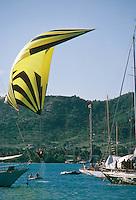 Semaine d'Antigua, spi ascentionnel