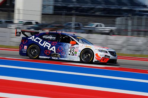 3-6 March, 2016, Austin, Texas, USA<br /> #42 Peter Cunningham, Acura TLX-GT<br /> © 2016, Jay Bonvouloir, ESCP