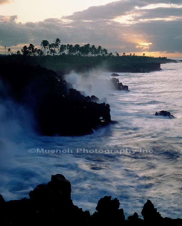 """""""Wahaula Heiau, Paena Waa, Kalapana Coast, Hawaii Hawaii Volcanoes NP  HAWAII"""""""