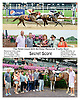 Secret Score winning at Delaware Park on 8/6/14