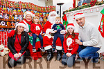 Santa At Kerry Writers Museum : Visiting Santa & Mrs Claus at his cave in Kerry Writers Museum, Listowel on Saturday last were Michelle Moroney, Nessa & Reece Kelliher, Lilith Murphy & Donnacha Kelliher.
