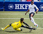 Chelsea vs Leicester City during the Day 3 of the HKFC Citibank Soccer Sevens 2014 on May 25, 2014 at the Hong Kong Football Club in Hong Kong, China. Photo by Victor Fraile / Power Sport Images
