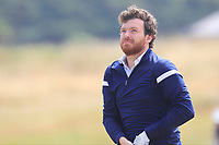 Ryan Gribben (Warrenpoint) on the 15th tee during Round 2 - Strokeplay of the North of Ireland Championship at Royal Portrush Golf Club, Portrush, Co. Antrim on Tuesday 10th July 2018.<br /> Picture:  Thos Caffrey / Golffile