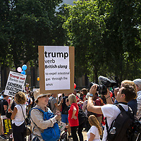 Manifestatione di protesta durante la visita di Trump a Londra<br /> <br /> Demonstration against Trump during his visit to London