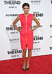 Jessica Szohr at Columbia Pictures' World Premiere of This is the End Premiere held at The Regency Village Theatre in Westwood, California on June 03,2013                                                                   Copyright 2013 Hollywood Press Agency