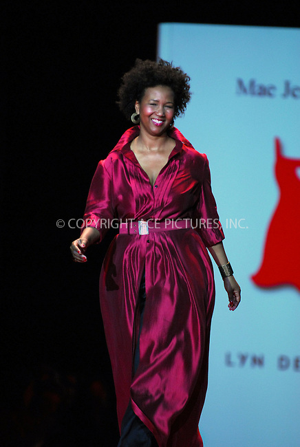 WWW.ACEPIXS.COM . . . . . ....February 2, 2007. New York City.....Mae Jemison wearing Lyn Devon during Heart Truth Red Dress Collection Fall 2007.....Please byline: KRISTIN CALLAHAN - ACEPIXS.COM.. . . . . . ..Ace Pictures, Inc:  ..(212) 243-8787 or (646) 679 0430..e-mail: picturedesk@acepixs.com..web: http://www.acepixs.com