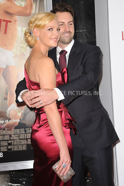 WWW.ACEPIXS.COM . . . . . .September 30 2010, New York City.... Katherine Heigl and Josh Kelley attend the 'Life As We Know It' premiere at the Ziegfeld Theatre on September 30, 2010 in New York City....Please byline: KRISTIN CALLAHAN - ACEPIXS.COM.. . . . . . ..Ace Pictures, Inc: ..tel: (212) 243 8787 or (646) 769 0430..e-mail: info@acepixs.com..web: http://www.acepixs.com .