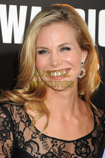 "Brooke Burns.""Warrior"" World Premiere held at Arclight Cinemas, Hollywood, California, USA..September 6th, 2011.headshot portrait black lace smiling  .CAP/ADM/BP.©Byron Purvis/AdMedia/Capital Pictures."