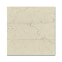 "Giovanni Barbieri 4"" x 12"" Bianco Antico available in Lucido or Timeworn finish."