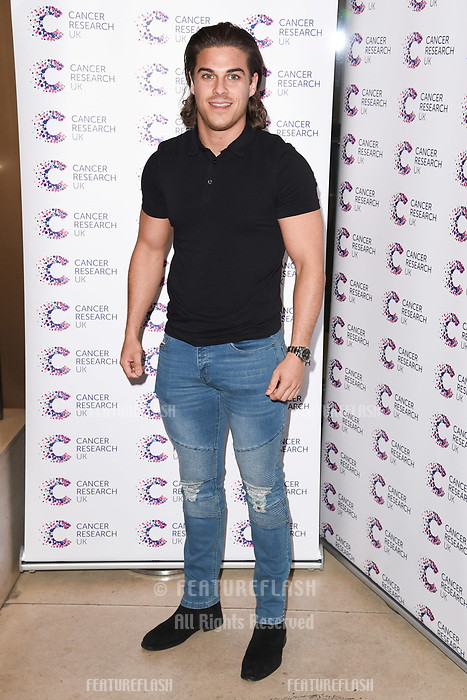 Chris Clark arriving at James Ingham&rsquo;s Jog On to Cancer, in aid of Cancer Research UK at The Roof Gardens in Kensington, London.  <br /> 12 April  2017<br /> Picture: Steve Vas/Featureflash/SilverHub 0208 004 5359 sales@silverhubmedia.com