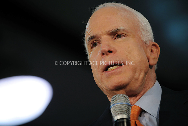 WWW.ACEPIXS.COM . . . . . ....June 30 2008, Pipersville, PA....Republican presidential candidate Sen. John McCain, (R-Ariz.), campaigning at a town hall-style meeting campaign event in Pipersville, Pa. on Monday, June 30, 2008....Please byline: KRISTIN CALLAHAN - ACEPIXS.COM.. . . . . . ..Ace Pictures, Inc:  ..(646) 769 0430..e-mail: info@acepixs.com..web: http://www.acepixs.com