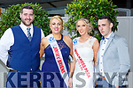 Ryan Patterson, Mary T Moynihan, Maureen Brosnan and Daniel O'Sullivan at  the Lily of Killarney in the Gleneagle Hotel on Friday night
