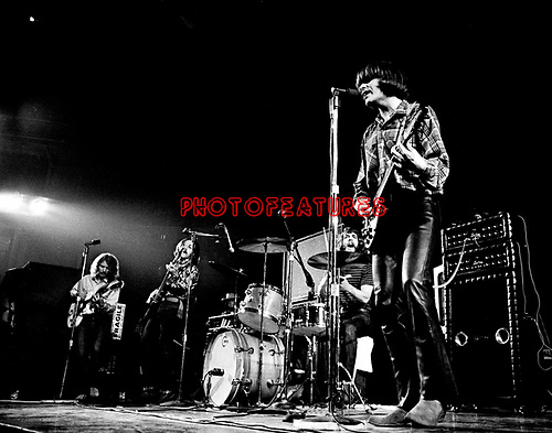 Creedence Clearwater Revival 1970 Tom Fogerty,Stu Cook, Doug Clifford and John Fogerty at Royal Albert Hall<br />