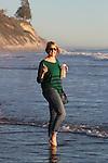 Santa Barbara, CA.  Beach Family.  Dec. 2014.  Frank Balthis