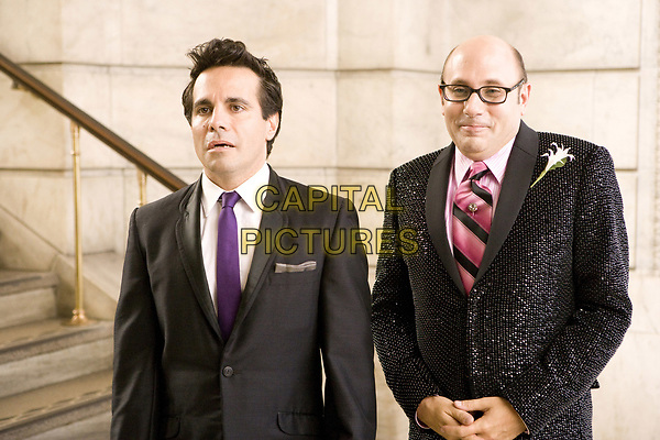 Sex and the City (2008) <br /> Willie Garson &amp; Mario Cantone<br /> *Filmstill - Editorial Use Only*<br /> CAP/MFS<br /> Image supplied by Capital Pictures