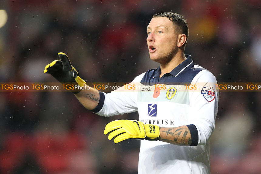 Paddy Kenny of Leeds United - Charlton Athletic vs Leeds United - Sky Bet Championship Football at The Valley, London - 09/11/13 - MANDATORY CREDIT: Simon Roe/TGSPHOTO - Self billing applies where appropriate - 0845 094 6026 - contact@tgsphoto.co.uk - NO UNPAID USE