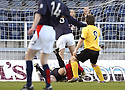 07/05/2005         Copyright Pic : James Stewart.File Name : jspa12_falkirk_v_qots.DAVID MCNIVEN SPOILS THE PARTY BY SCORING QUEEN OF THE SOUTH'S WINNER....Payments to :.James Stewart Photo Agency 19 Carronlea Drive, Falkirk. FK2 8DN      Vat Reg No. 607 6932 25.Office     : +44 (0)1324 570906     .Mobile   : +44 (0)7721 416997.Fax         : +44 (0)1324 570906.E-mail  :  jim@jspa.co.uk.If you require further information then contact Jim Stewart on any of the numbers above.........A