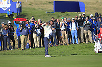Bubba Watson (Team USA) on the 13th fairway during Saturday Foursomes at the Ryder Cup, Le Golf National, Ile-de-France, France. 29/09/2018.<br /> Picture Thos Caffrey / Golffile.ie<br /> <br /> All photo usage must carry mandatory copyright credit (© Golffile | Thos Caffrey)