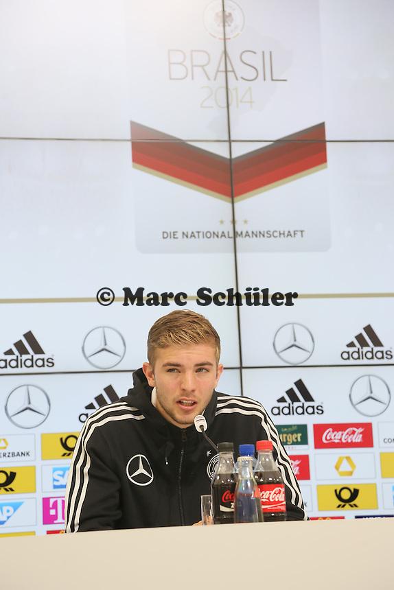 Christoph Kramer - Pressekonferenz der Deutschen Nationalmannschaft   im Rahmen der WM-Vorbereitung in St. Martin