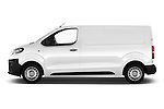 Car Driver side profile view of a 2016 Peugeot Expert Premium 4 Door Cargo Van Side View
