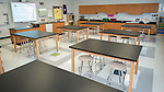 Classroom at The Rusk School, April 7, 2014.