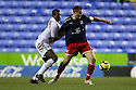 Joel Byrom of Stevenage and Mikele Leigertwood of Reading challenge.Reading v Stevenage - FA Cup 3rd Round - Madejski Stadium,.Reading - 7th January, 2012.© Kevin Coleman 2012