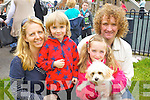 Pictured at Ardfert family fun day on Sunday were l-r: John, Jenny, Sean and Orla Barry with Rosie Daisy (the dog)..