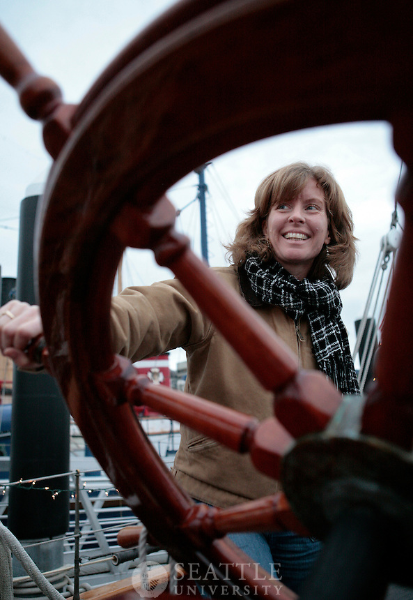 12182009- The Adventuress, Sound Experience, Catherine Collins, executive director, Seattle University MBA alumna<br />