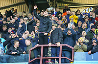 Leeds United fans applaud their team<br /> <br /> Photographer Alex Dodd/CameraSport<br /> <br /> The EFL Sky Bet Championship - Aston Villa v Leeds United - Sunday 23rd December 2018 - Villa Park - Birmingham<br /> <br /> World Copyright &copy; 2018 CameraSport. All rights reserved. 43 Linden Ave. Countesthorpe. Leicester. England. LE8 5PG - Tel: +44 (0) 116 277 4147 - admin@camerasport.com - www.camerasport.com