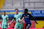 Zweikampf, Duell zwischen Sebastian Rudy (Hoffenheim) und Christopher Antwi-Adjei (SC Paderborn).<br />