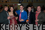 St Senan's NYE Party: Enjoying the NYE party held at St Senan's Clubhouse, Mountcoal, Listowel  were  Kevin & Gillian Greaney, James Barry, Sean Weir * Arron Sheehan