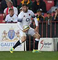 Elliot Daly of England over for a try during the 2018 Castle Lager Incoming Series 1st Test match between South Africa and England at Emirates Airline Park,<br /> Johannesburg.South Africa. 09,06,2018 Photo by (Steve Haag Sports)