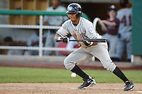 August 3, 2009:  Angel Franco of the Idaho Falls Chukars, Rookie Class-A affiliate of the Kansas City Royals, during a game at the Orem Owlz Ballpark in Orem, UT. Photo by: Matthew Sauk/Four Seam Images