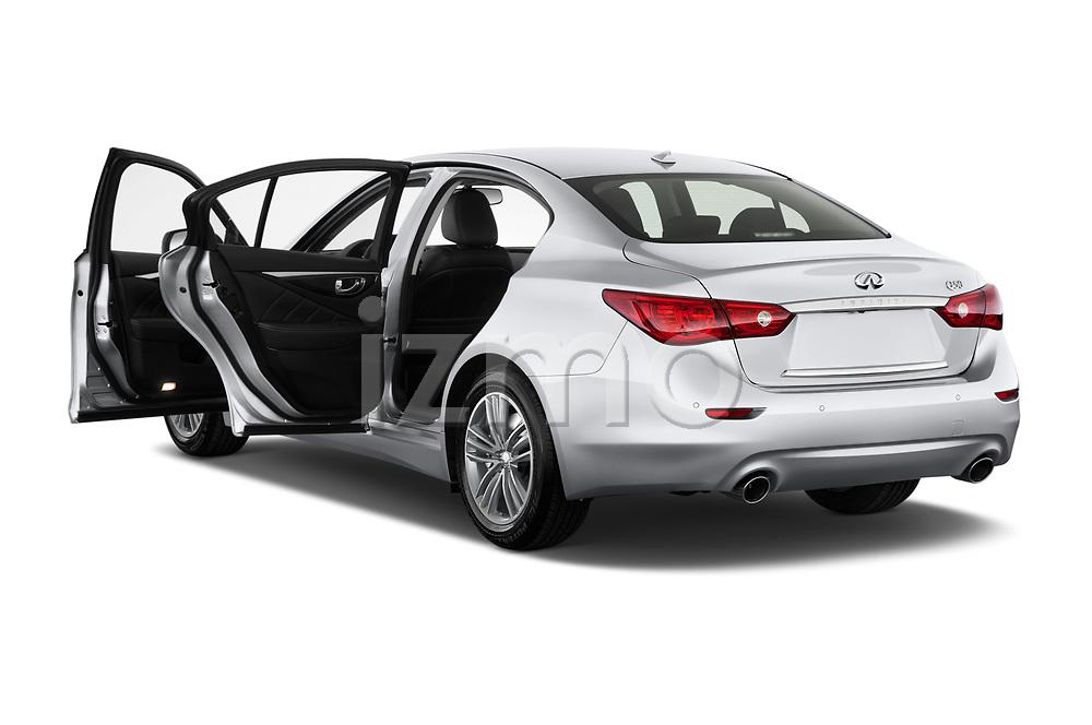 Car images of 2017 Infiniti Q50 Hybrid-Premium 4 Door Sedan Doors